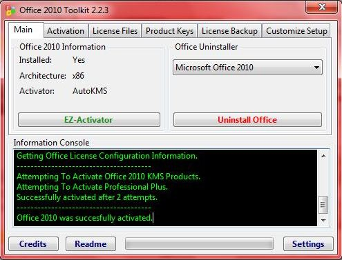MS Office 2010 EZ Activator amp Toolkit Full Version is Here!